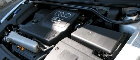 Audi TT Coupe S-line Limited (GH-8NBVR) エンジン(BVR)