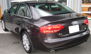 AudiA4 (B8) リアビュー