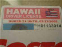 虹の仮免許が役に立つ?