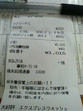 初の¥1,000オーバー 2008年08月29日