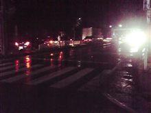 集中豪雨で大変な事に・・・道は。。。(驚・・・