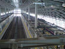 八戸駅にて