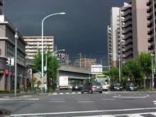空が真っ黒~!
