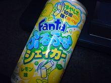 Fantaふるふるシェイカーレモン味。