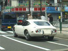 回顧録的備忘録・街中のトヨタ2000GT