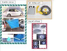 パレットキャンパー 車外装備部品の説明 (No.9)