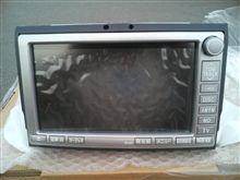 トヨタ純正 86100-580** アルファードのメーカー純正HDDナビ 注意点!