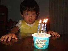 3回目の誕生日