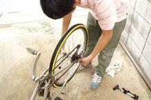 自転車に浮気しております