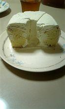 レモン風味のヨーグルトシフォンケーキ