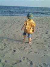 大きな砂場♪