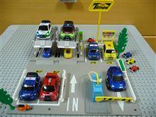 WRCカーで満車?!