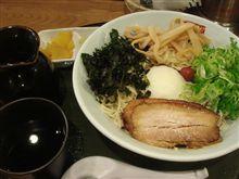温玉冷やしつけ麺(三河開化亭)