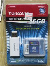 16GB SDカード