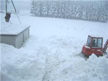 雪…もういや…