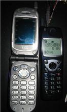携帯電話3個