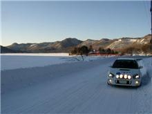 赤城山雪道ドライブ