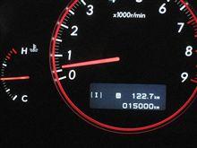 本日、15000kmを超えました。