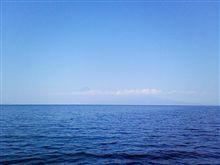 ほとんど見えない富士山