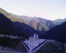 徳山ダムに