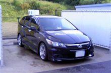 ストリーム 洗車