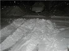 またこんなに雪がぁ~(>_<)