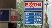米国のガソリン代