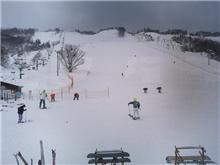 昨日は矢島スキー場