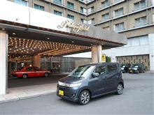 ワゴンRスティングレー@パレスホテル。