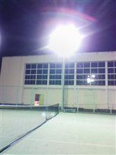 放課後テニスで