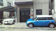 MINIうさぎ号の駐車場所