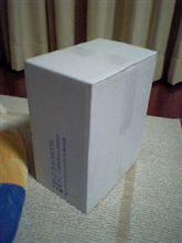 怪しい箱が到着・・・
