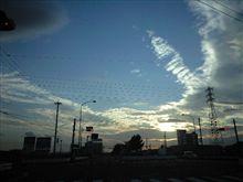 秋の空!(^^)