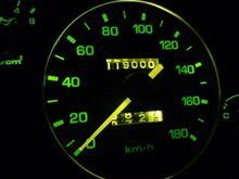 ロド119000km記念