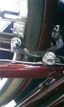 友達の自転車