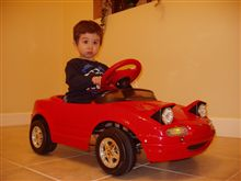My Son's Eunos Roadster