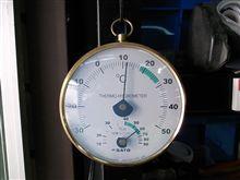 今日の気温と湿度