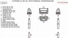 Citroen C4 Dash Kits