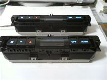 リア・エアコンユニットのLED化