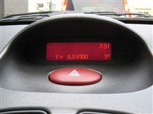 206SW S16 の燃費!