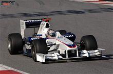 2008年 F1テスト