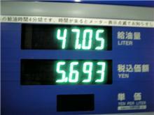末広がりな...燃費?