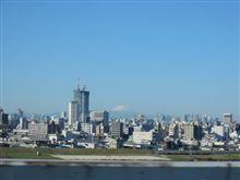 首都高速からの富士山