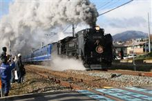 SL信越120周年号、D51-498長野~黒姫間運転