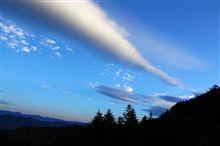 林道富士線 夜明前