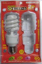 電球型蛍光ランプは1/5だ!