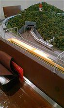 鉄道模型の走るレストラン・・・