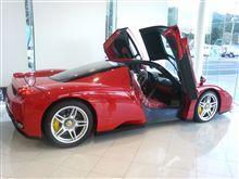 エンツォフェラーリを見学してきました。