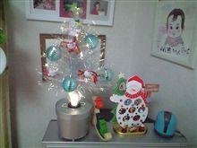 クリスマスツリーを出してみました!!