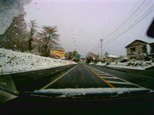 雪道で大丈夫か・・・記録時間